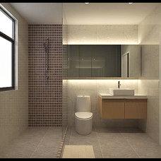 Modern Bathroom small box
