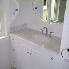 Traditional Bathroom by Michael Taylor, P. Eng.