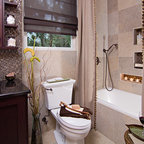 Long And Narrow Guest Bath Eclectic Bathroom Other