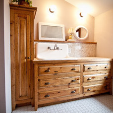 Traditional Bathroom by Traditional Cabinetry LLC