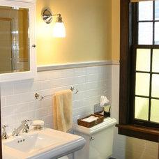 Traditional Bathroom by Michael FitzSimmons Decorative Arts