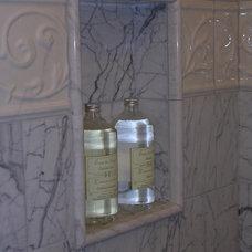 Traditional Bathroom by Marina V. Phillips