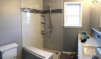 Small Master Bath Shower Enclosure