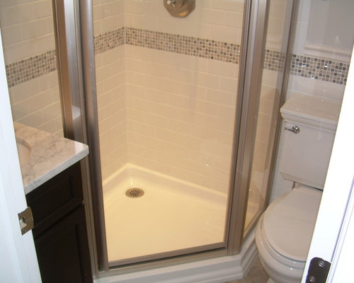 Small Corner Shower Houzz