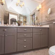 Traditional Bathroom by Deepdale House LLC