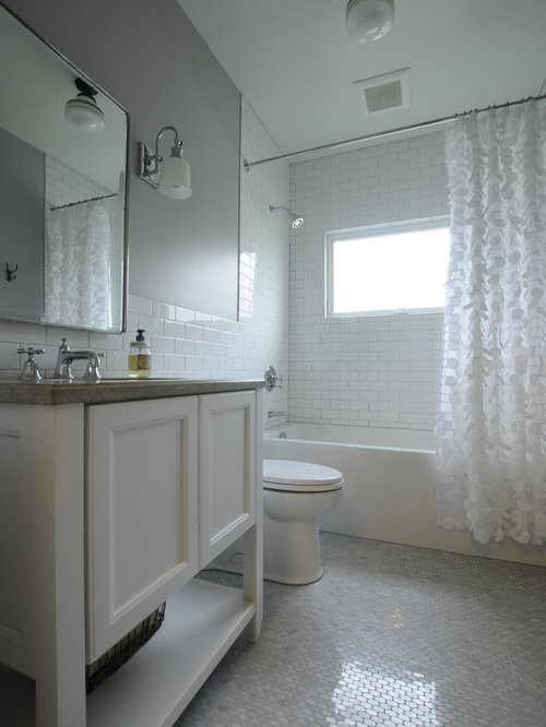 Small seattle bathroom design ideas remodels photos for Bathroom remodel seattle