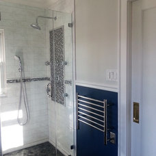 Transitional Bathroom by True Identity Concepts