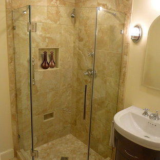 Small Space, Big Impact - Master Bath Remodel by Renovisions