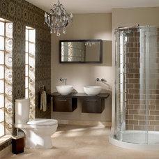 Modern Bathroom by Asbury Remodeling & Construction, LLC
