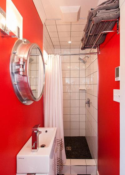 Coastal Bathroom by Becki Peckham