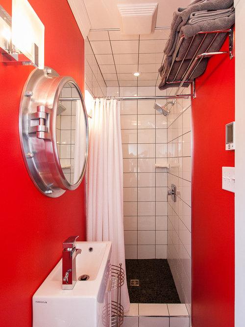 Petite fenetre de salle de bain salle de bains avec for Petite fenetre pvc pour wc