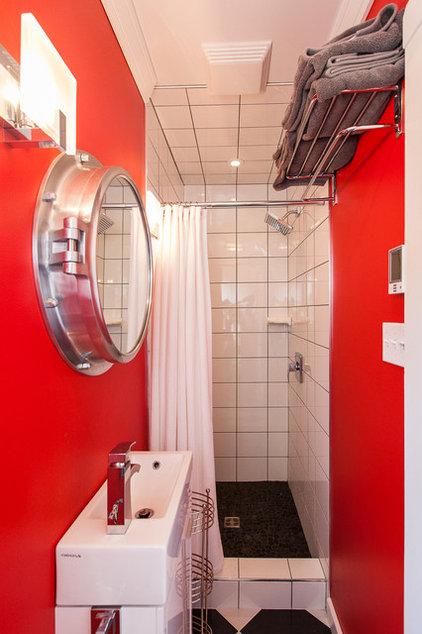 Beach Style Bathroom by Becki Peckham