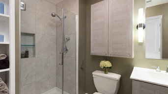 Small Yet Sophisticated Bathroom Remodel