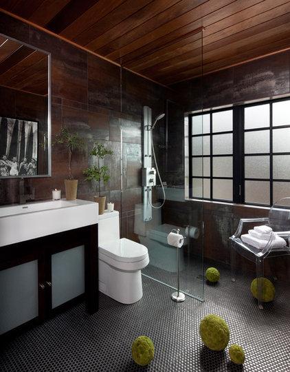 Contemporary Bathroom by Jeffrey King Interiors