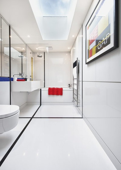 Contemporáneo Cuarto de baño by Suzy Harris Designs