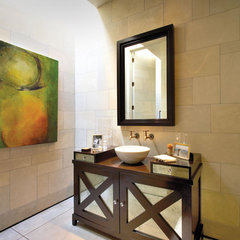contemporary bathroom by Prestige Builders