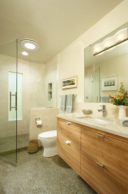 Contemporary Bathroom by Casa Verde Design