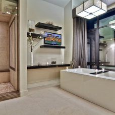 Contemporary Bathroom by Brandon Architects, Inc.