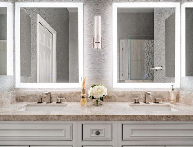 Contemporary Bathroom by Covello Design