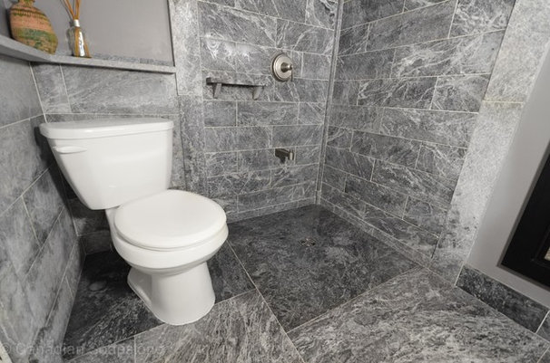 Traditional Bathroom by Canadian Soapstone™