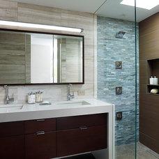 Modern Bathroom by k YODER design, LLC