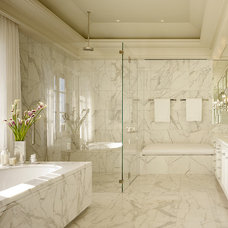 Traditional Bathroom by BAR Architects