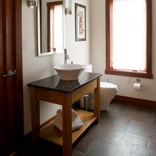 Modern Bathroom by studio26 homes