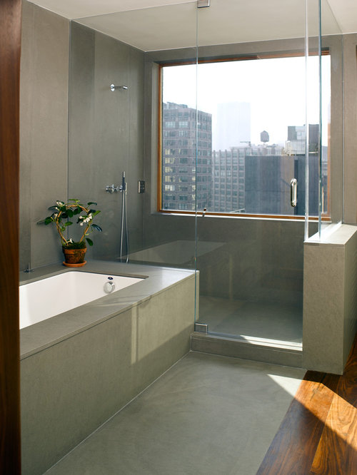 25 Best Modern Bathroom With An Undermount Tub Ideas