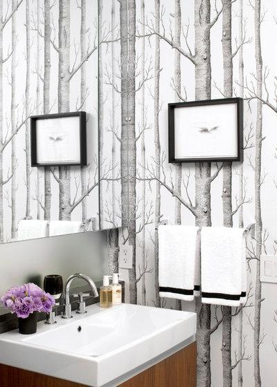 Modern Badezimmer By Katie Lydon Interiors
