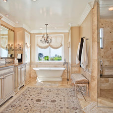 Traditional Bathroom by Lisa Hoyt Design