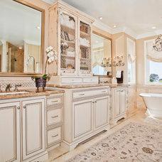 Traditional Bathroom by Lisa Hoyt Design