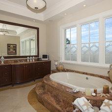 Mediterranean Bathroom by Dorlom Construction