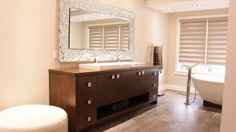 Solid Walnut Vanity
