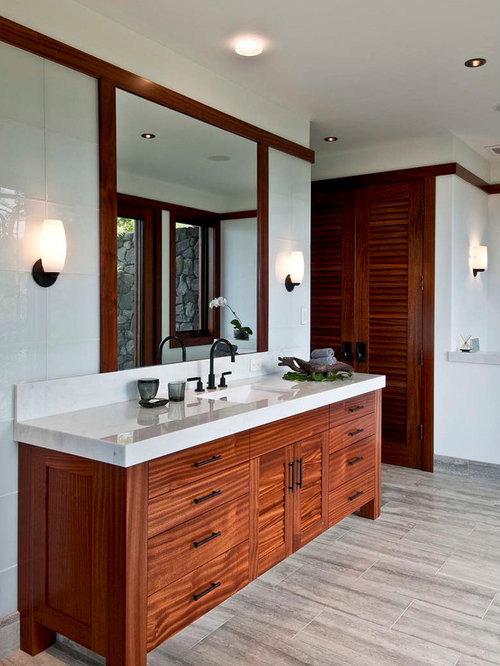 Tropical Bathroom Tile Ideas : Tropical bathroom tiles design ideas pictures