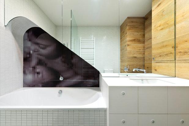 Modern Badezimmer by Brad Hill Imaging