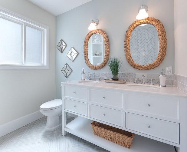Transitional Bathroom by Teague Hunziker Photography