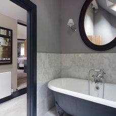 Farmhouse Bathroom by Inspired Design Ltd
