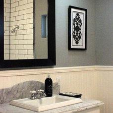 Traditional Bathroom by Jami Abbadessa