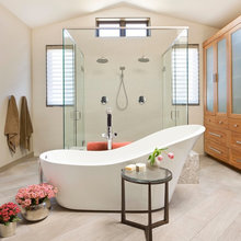 Room of the Day: A Dated Bathroom Gets the Glass-and-Slipper Treatment