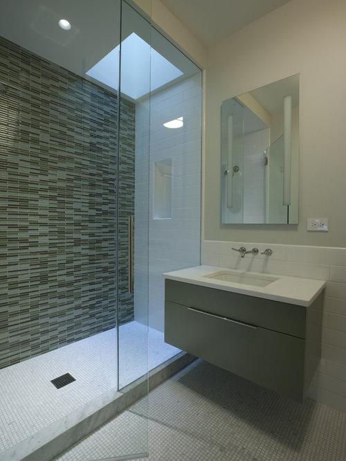 Wave Tile Shower | Houzz