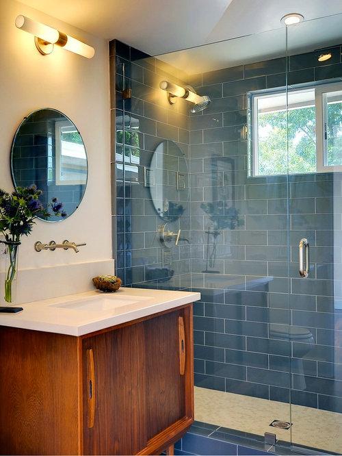 Bathroom Design Ideas Renovations Photos With Glass Tiles