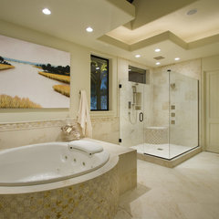 contemporary bathroom by Ronda Divers Interiors, Inc.