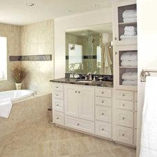 Traditional Bathroom by Kasper Custom Remodeling, LLC
