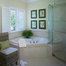 Contemporary Bathroom by Interiors by Donna Hoffman