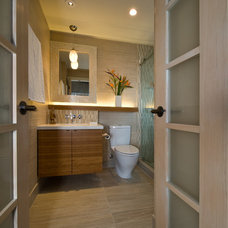 Contemporary Bathroom by MCYIA Interior Architecture and Design