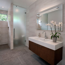 Contemporary Bathroom by Terra Nova Building Corporation