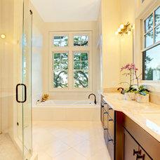 Traditional Bathroom by Decker Bullock Sotheby's International Realty