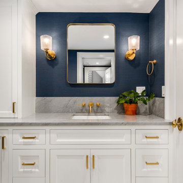 Sophisticated Guest Bathroom