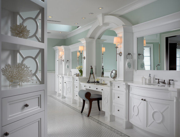 Beach Style Bathroom by Pinto Designs and Associates