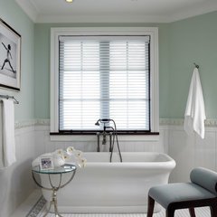 eclectic bathroom by Pinto Designs and Associates